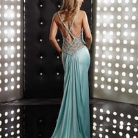 Jasz Couture Dress 4349 at Peaches Boutique