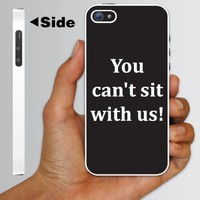 "Amazon.com: Mean Girls Movie Themed ""You Can't Sit With Us!""- WHITE Protective iPhone 5 Hard Case.: Cell Phones & Accessories"