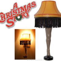 A CHRISTMAS STORY LEG LAMP NIGHTLIGHT