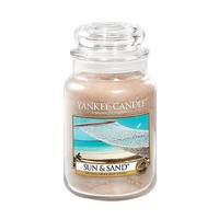 Amazon.com: Yankee Candle 22oz Jar Candle Sun & Sand: Home & Kitchen