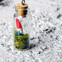 Bottled Gnome by rudeandreckless on Etsy