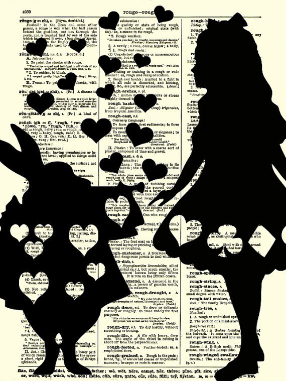 alice  wonderland art print alice   reimaginationprints