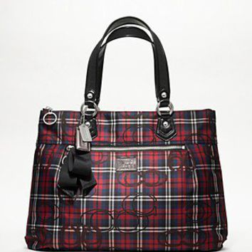 COACH Poppy Tartan Glam - COACH - Bloomingdales.com
