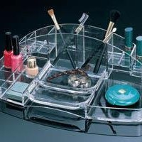 Amazon.com: Cosmetic Organizer by Acrylic: Beauty
