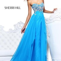 Sherri Hill Dress 3867 at Peaches Boutique