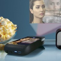 Amazon.com: Pocket Projector for iPhone 4 Devices: Cell Phones & Accessories
