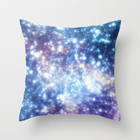 Map of the Stars Throw Pillow by ThoughtCloud | Society6