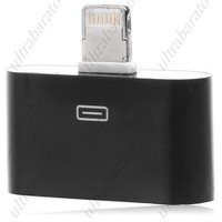 iPhone 4G/4S Dock Connector Female to iPhone 5 iPod NANO 7 iPad Mini Lightning Connector Male Adapter Converter from UltraBarato Gadgets