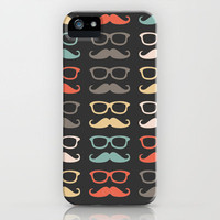 Mustache Life  iPhone Case by Lilach Oren | Society6