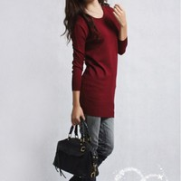 Women's Asymmetric Knit ...