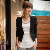 2011 Winter Princess Short Sleeve Trendy Jacket