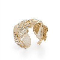 BCBGMAXAZRIA - WHAT'S NEW: PAVE FEATHER CUFF