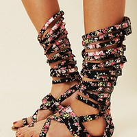 Free People Romana Floral Sandal