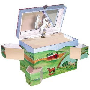 Amazon.com: Enchantments Hideaway Horse Music Box: Toys &amp; Games