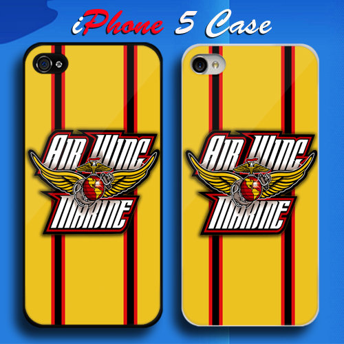USMC Air Wing Marine Custom iPhone 5 Case Cover from namina