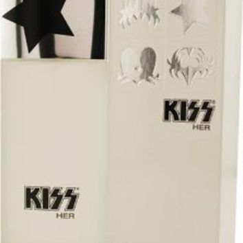 Amazon.com: Kiss Her By Kiss For Women, Eau De Parfume Spray, 3.4-Ounce Bottle: Kiss: Beauty