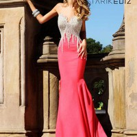 Tarik Ediz 92048 Dress at Peaches Boutique