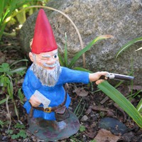 Zombie Gnomes Wyrick by ChrisandJanesPlace on Etsy