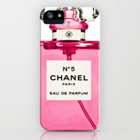 Pink Chanel iPhone Case by Sheena Mohammadi | Society6