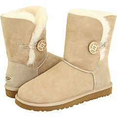 5803-sand UGG Boots UGG Bailey Button boots Outlet UK