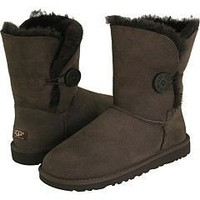 UGG 5803 Bailey Button boots chocolate Outlet UK