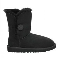 UGG 5803 Black Women's Bailey Button Outlet UK