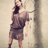 Pocahontas Fringe Dress