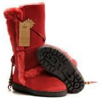 UGG Nightfall 5359 Boots Red Outlet UK