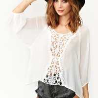 Wander Crochet Top