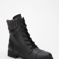 UrbanOutfitters.com > Ecote Sweater Cuff Lace-Up Boot