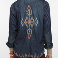 Urban Outfitters - BDG Embroidered Denim Shirt
