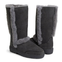 Ugg Sundance II 5325 Grey Boots Outlet UK