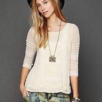 Free People Clothing Boutique > Victoria's Lace Top