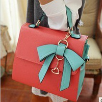 Korea dimensional bow handbag 2346 from Fashion Accessories Store