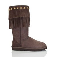 Ugg 3045 Jimmy Choo Boots Chocolate Outlet UK