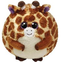 Amazon.com: Ty Beanie Ballz Tippy Plush - Giraffe, Regular: Toys & Games