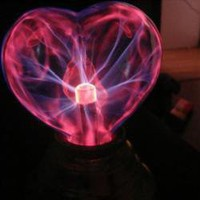 Plasma USB Light Sphere Heart Lover Party Gift China Wholesale - Everbuying.com