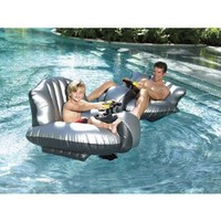 Amazon.com: Excalibur Motorized Bumper Boat w/Canon: Toys & Games