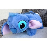 Amazon.com: Disney Educational Products - Disney Stitch Pillow Pal Pet Plush Doll NEW - Disney Theme Park Authentic: Everything Else