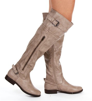 taupe knee high boots from epic wishlist
