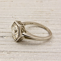 1.75 carat Old European Cut Diamond Engagement Ring By Raymond C. Yard | Shop | Erstwhile Jewelry Co.