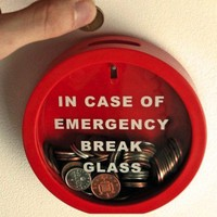 Emergency Break Glass Money Box -$15 | The Gadget Flow