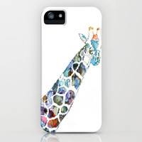 Giraffe iPhone Case by NKlein Design | Society6
