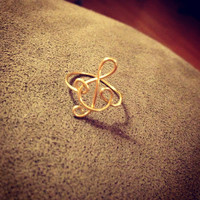 The Treble Clef Ring by MadebyLeahSue on Etsy