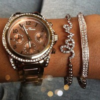 Chocolate Watch Stack
