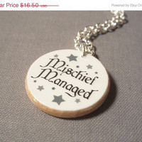 15 Off Storewide Sale Marauder's Map Inspired by BookishCharm