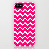 Pinkish Zig Zag iPhone Case iPhone Case by productoslocos | Society6