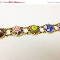 1/2 Off Sale Moroccan Mosaic Bracelet Attributed to Juliana