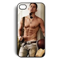 Amazon.com: Channing Tatum Hard Snap on Case Cover for Apple Iphone 4 Iphone 4s Cellphone Case: Cell Phones & Accessories