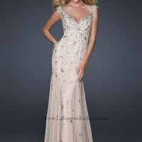 La Femme Dress 17471 at Peaches Boutique